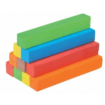 Krieda farebná, 6 farieb / bal. 12 ks