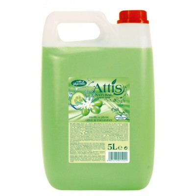 ATTIS tekuté mydlo Olivy a uhorky 5 l